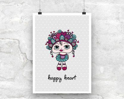 DIY A3-Happy-Heart-Poster
