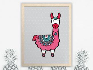 DIY-A3-Llama-Frame