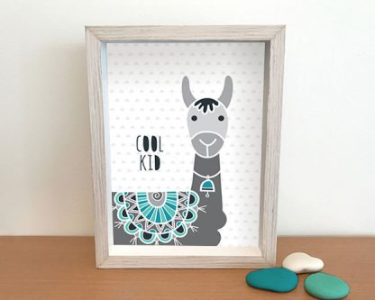 DIY cool kid llama