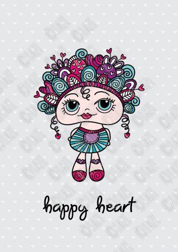DIY A3-happy-heart-doodledoll