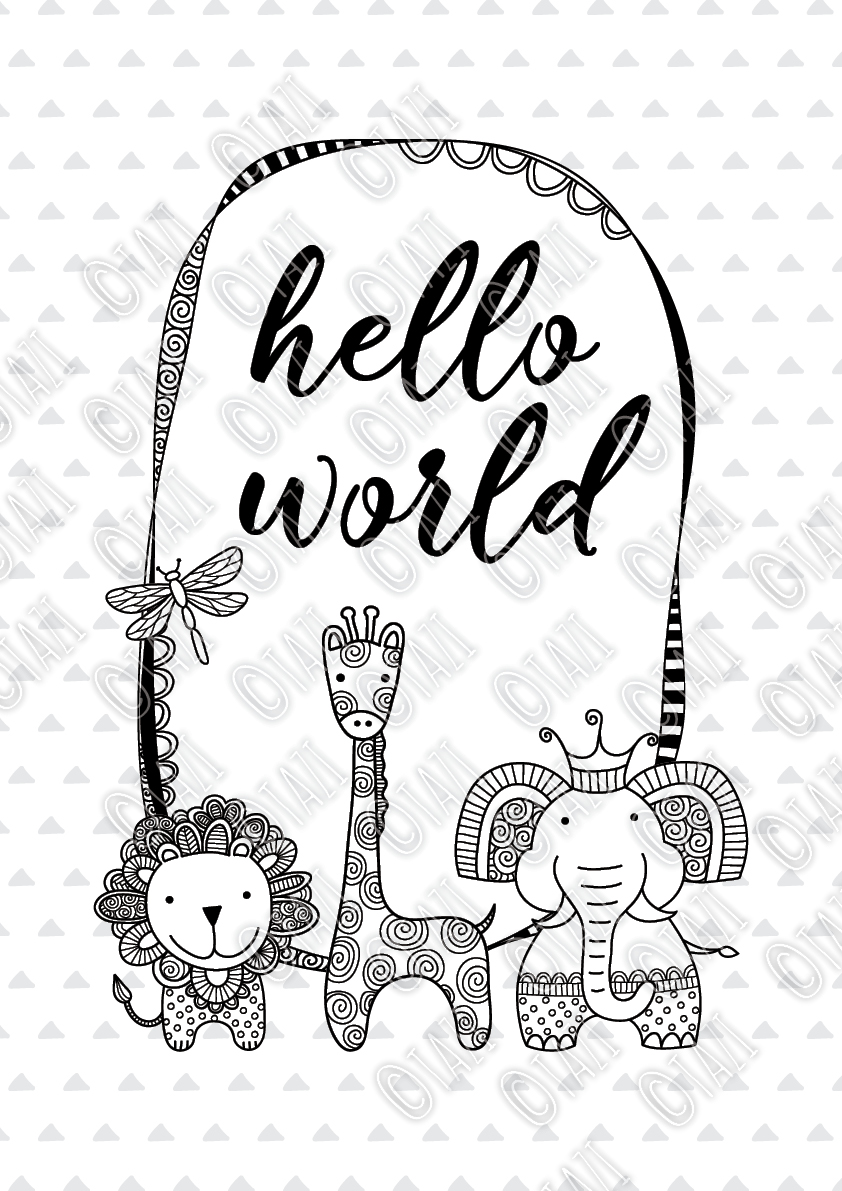 DIY hello world