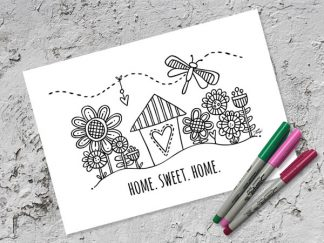 DIY-A4-home-sweet-home-grey