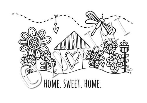 DIY-A4-home-sweet-home
