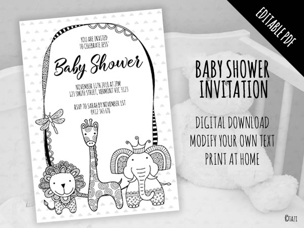 DIY Baby Shower