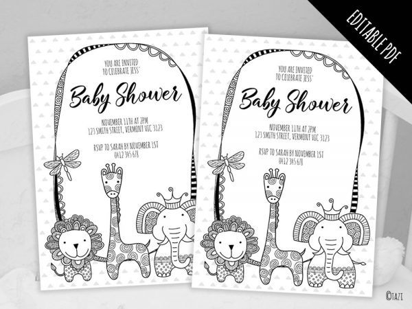 DIY Baby-Shower