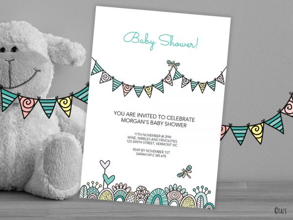 DIY Baby-Shower-Banner