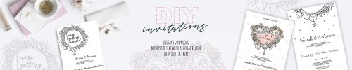 DIY Invitations header