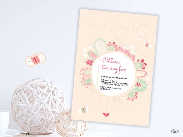 DIY Lets-Party-Invitation