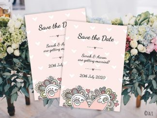 DIY Save-Date-Heart-Hero
