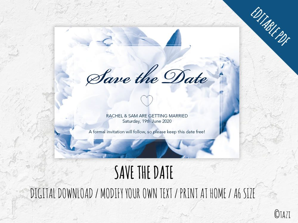 DIY-Save-Date-Peonie-Navy-Hero