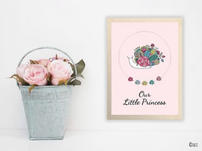 DIY Snail Print