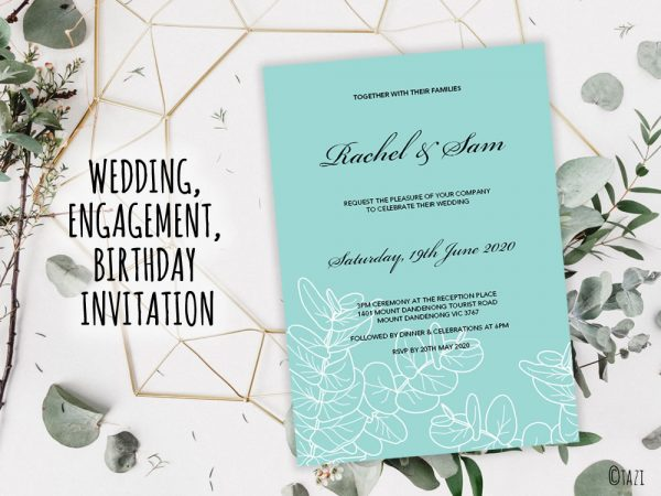 DIY Wedding-Leaves-Green