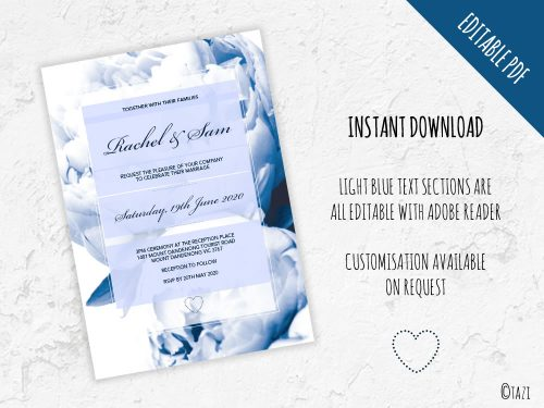 DIY-Wedding-Peonie-Navy-Editable