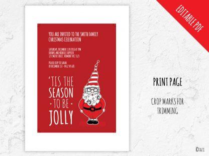 DIY Xmas-Santa-Print