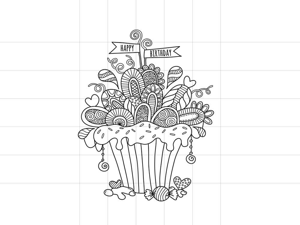 DIY-cupcake-black