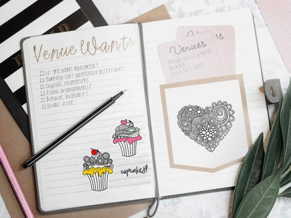 DIY digital-stamps-bujo