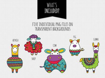 DIY farm animals included