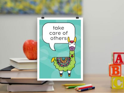 DIY farm animals poster