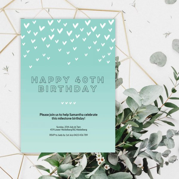 DIY green-heart-birthday
