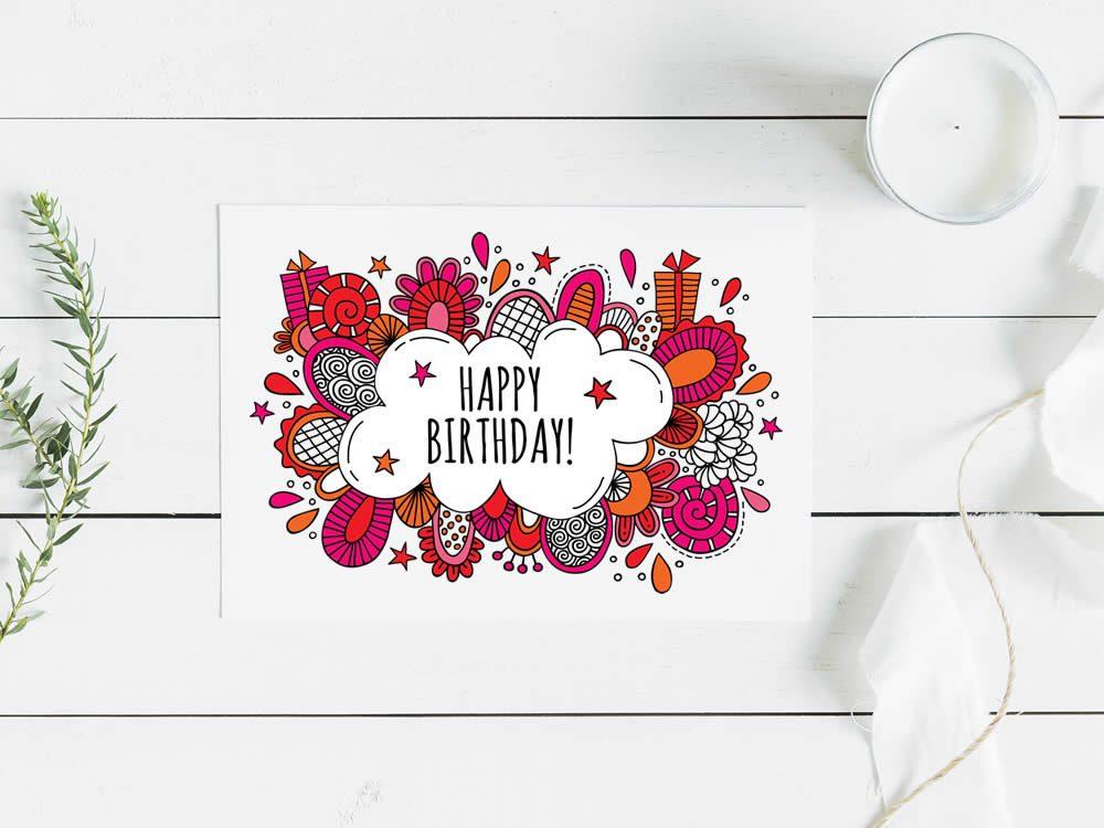 DIY happy-birthday-pink-mockup