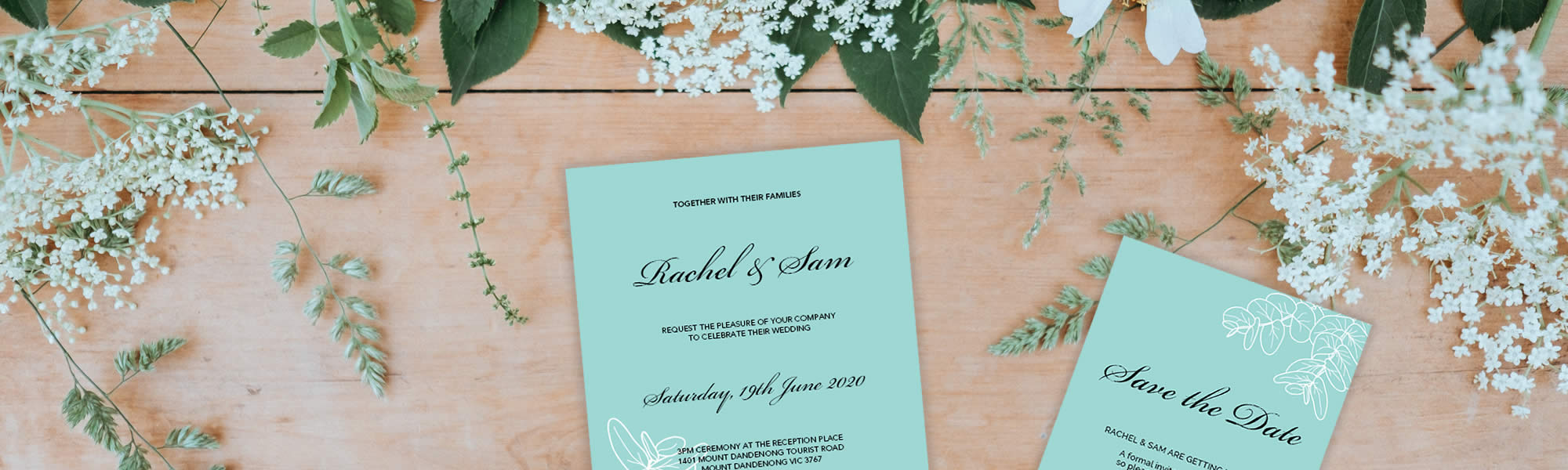 Wedding or Engagement Invitation