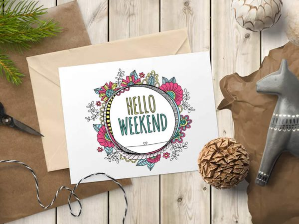 DIY hello-weekend