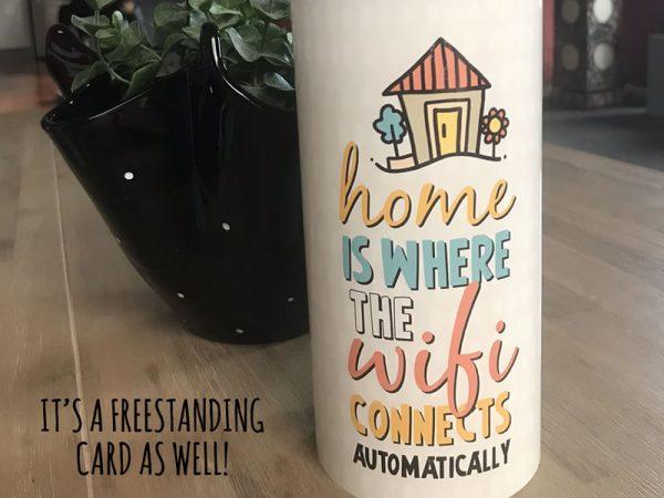 DIY housewarming card