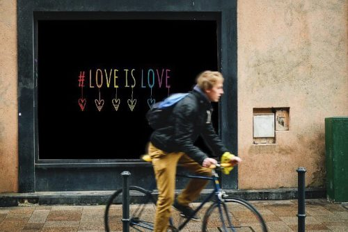 DIY love-is-love-window