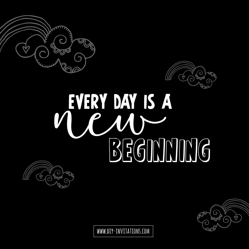 DIY new-beginning
