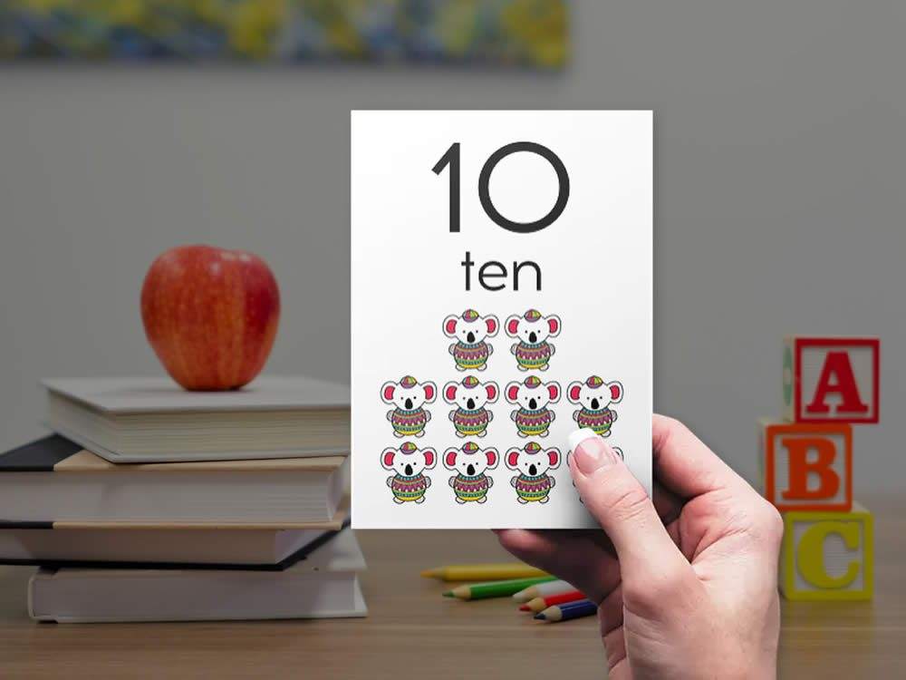 DIY numbers-bright-ten