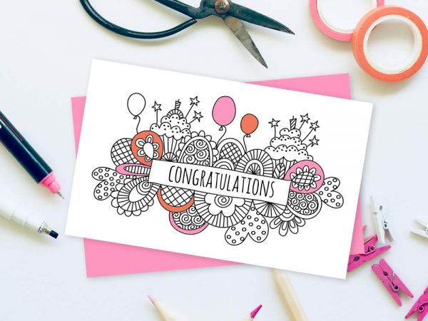 DIY party-doodle-banner-craft