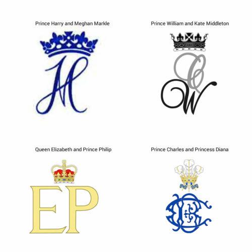DIY royal-monogram