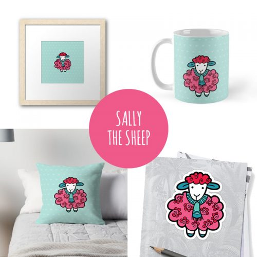 DIY sally-sheep