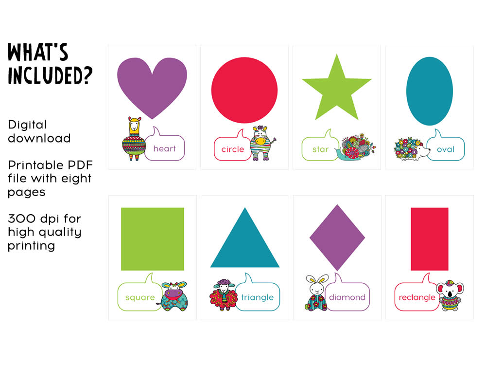DIY shapes-bright-included