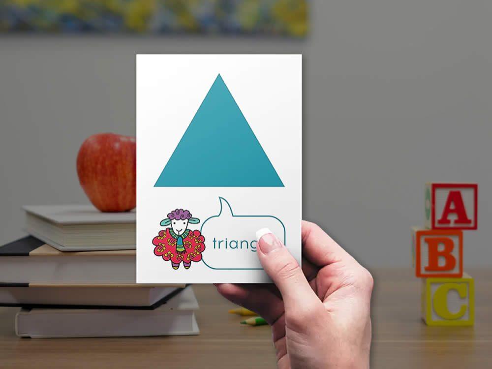 DIY shapes-triangle