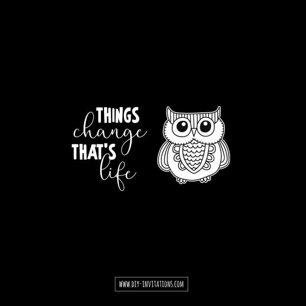DIY things-change