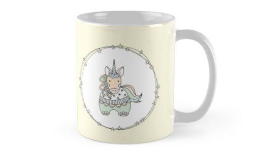 DIY gelati unicorn mug